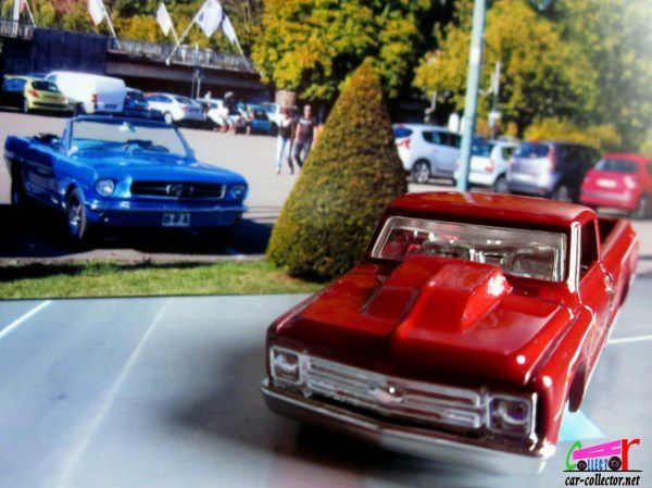 67 CHEVY C10 - CHEVROLET C10 PICK-UP 1967 HOT WHEELS 1/64.