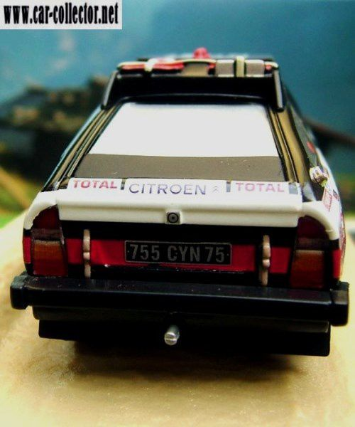 FASCICULE N°36 CITROEN CX 2400 GTI PARIS DAKAR 1981 NOREV 1/43.