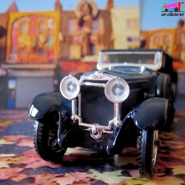 HISPANO SUIZA H6B PHAETON DECOUVRABLE 1926 SOLIDO 1/43.