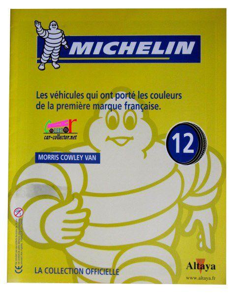 FASCICULE N°12 VAN MORRIS COWLEY 1930 MICHELIN 1/43 IXO.