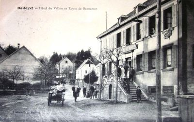 cpa-badevel-hotel-du-vallon-hotel-national-doubs-25-franche-comte