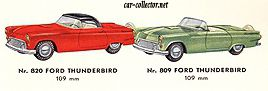 catalogue-tekno-1961-ford-thunderbird