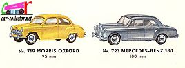 catalogue-tekno-1961-morris-oxford-mercedes-180