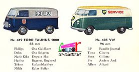catalogue-tekno-1961-ford-taunus-1000-philips-vw-combi-bp