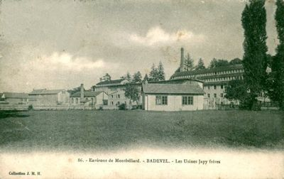 cpa-badevel-doubs-25-les-usines-japy