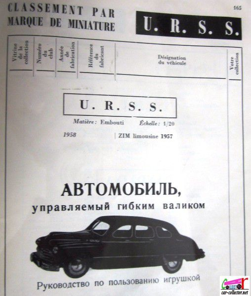 repertoire-mondial-des-automobiles-miniatures-geo-ch-veran-world-directory-of-models-cars-u.r.s.s