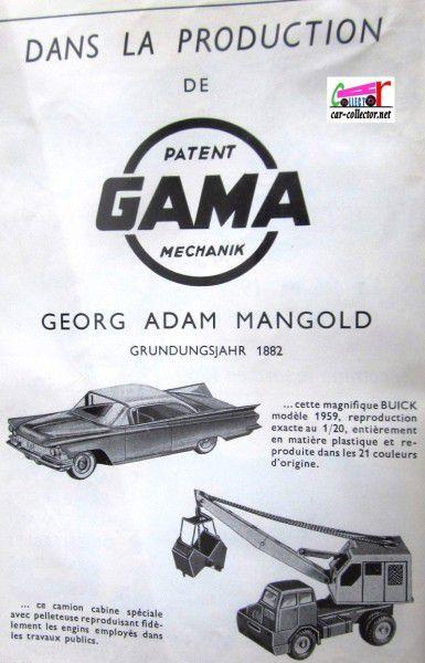 repertoire-mondial-des-automobiles-miniatures-geo-ch-veran-world-directory-of-models-cars-publicite-gama