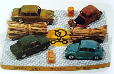 coffret-stock-car-norev-1971-peugeot-403-olive-traction-orange-simca-1000-epinards-vw-cox-bleu-turquoise