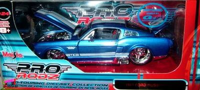 ford-mustang-gt-1967-tuning-maisto-pro-rodz-echelle-124