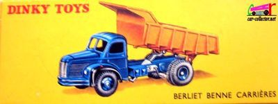 camion-berliet-gl10-benne-carrieres-marrel-dinky-toys-meccano-france