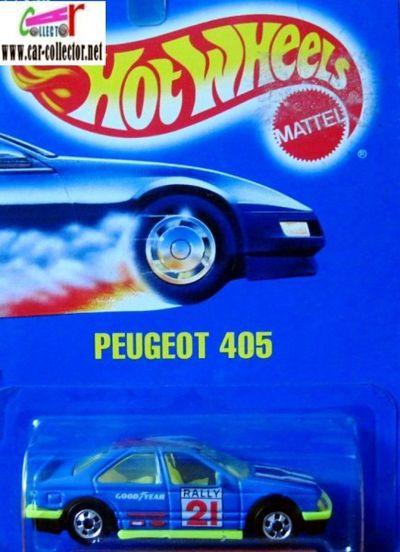 peugeot-405-peinture-bleue-hot-wheels-1991