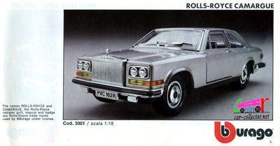 catalogue-burago-1983-catalogo-bburago-1983-catalog-burago-1983-katalog-burago-1983-rolls-royce-camargue