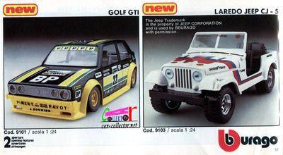 catalogue-burago-1983-catalogo-bburago-1983-catalog-burago-1983-katalog-burago-1983-vw-golf-gti-jeep-laredo-cj5
