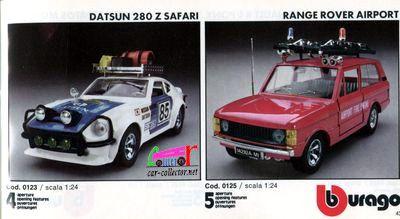 catalogue-burago-1983-catalogo-bburago-1983-catalog-burago-1983-katalog-burago-1983-datsun-280-safari-range-rover-airport