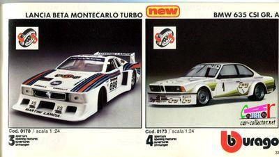 catalogue-burago-1983-catalogo-bburago-1983-catalog-burago-1983-katalog-burago-1983-lancia-beta-montecarlo-bmw-635-csi