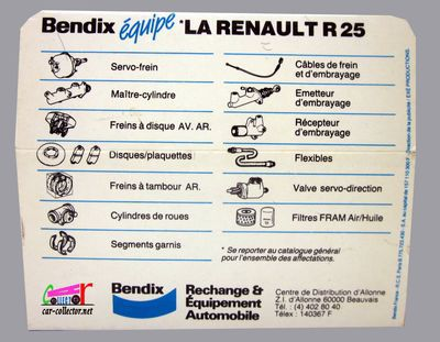 renault-25-bendix-allied-solido-r25-freins-bendix