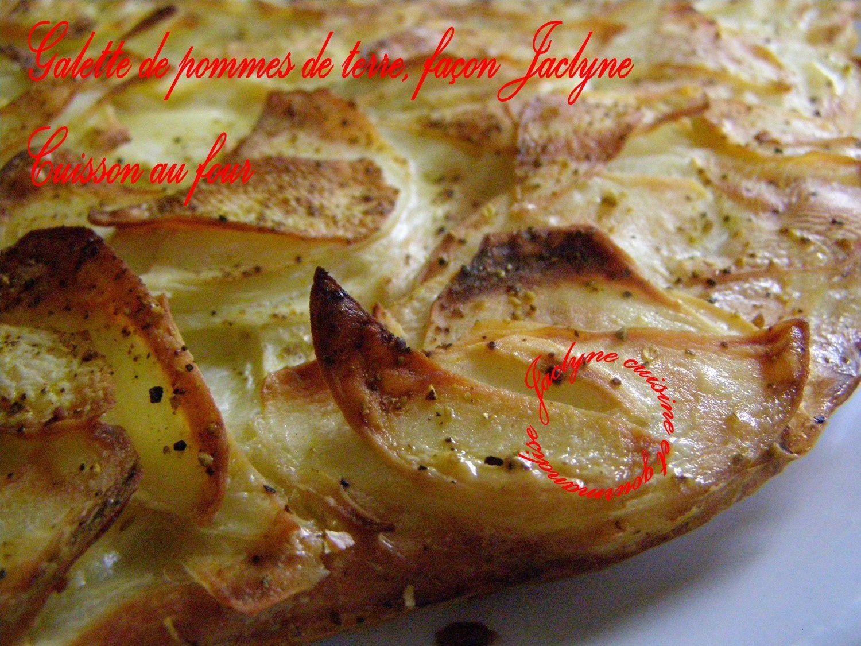 Galette de pommes de terre, cuisson au four, façon Jaclyne (Gratin Dauphinois et Crique de mémé Juliette revisités)  Jaclyne www.cuisineetgourmandise.fr