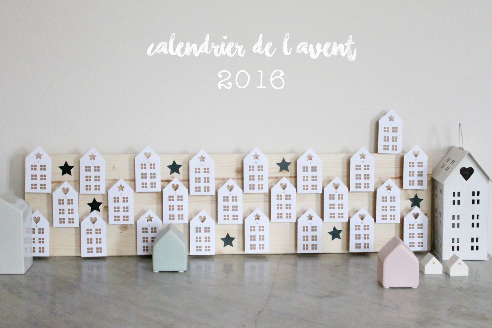 le calendrier de l 39 avent 2016 avec ses 10 ptits doigts blog diy. Black Bedroom Furniture Sets. Home Design Ideas