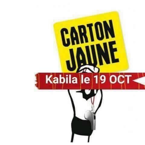 Carton jaune à Kabila, Bana Congo appelle au sit-in devant toutes les ambassades de la RD Congo