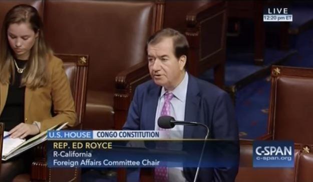 Vidéo. Résolution américaine contre le Pdt Joseph Kabila