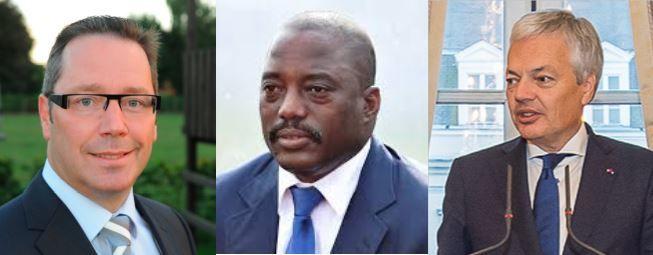 Député Peter Luykx à Reynders : Kabila a entamé un 3è mandat illégal