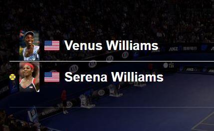 Open d'Australie 2017: Serena Williams contre Venus Williams