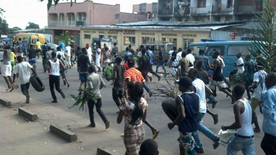 Manifestations à Kinshasa, photo d'archives