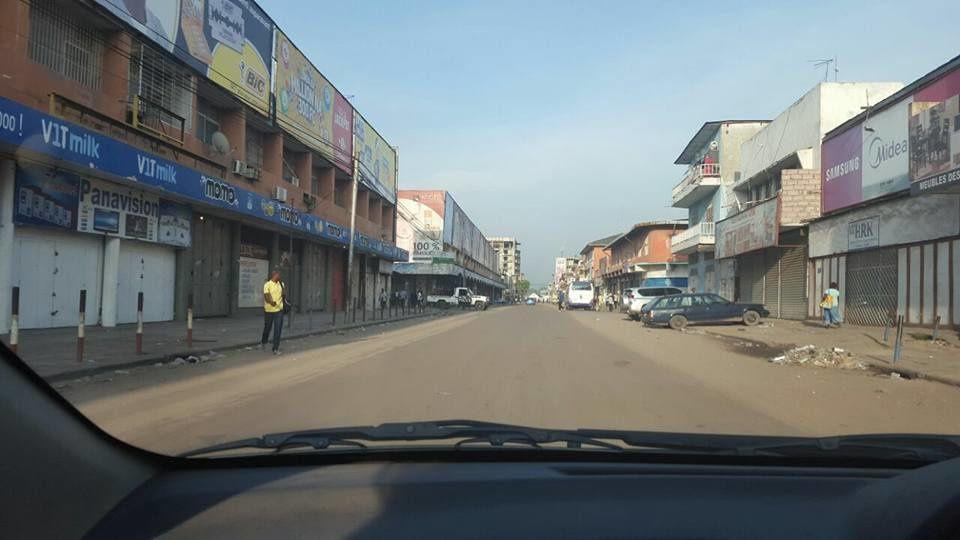 Richard K. d'ED TV : Kinshasa ville totalement morte ce lundi 3 avril 2017
