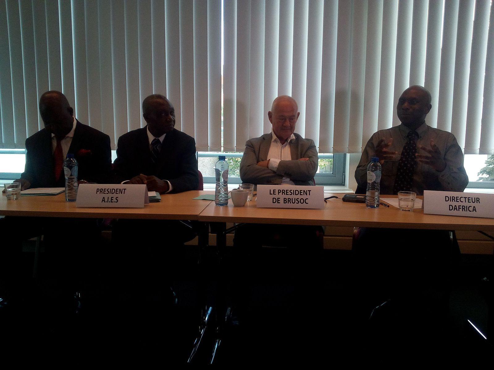 Bruxelles. Colloque , Comment améliorer l'entrepreneuriat africain en Belgique
