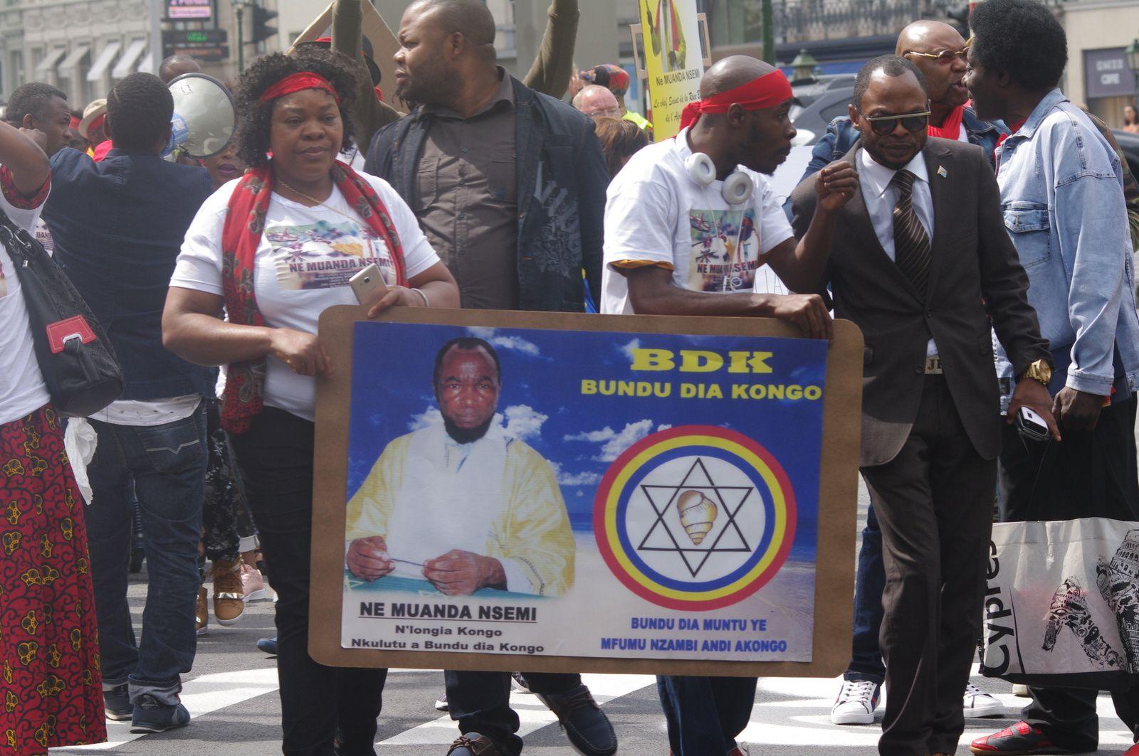 Cris de colère dans les rues de Bruxelles contre J. Kabila