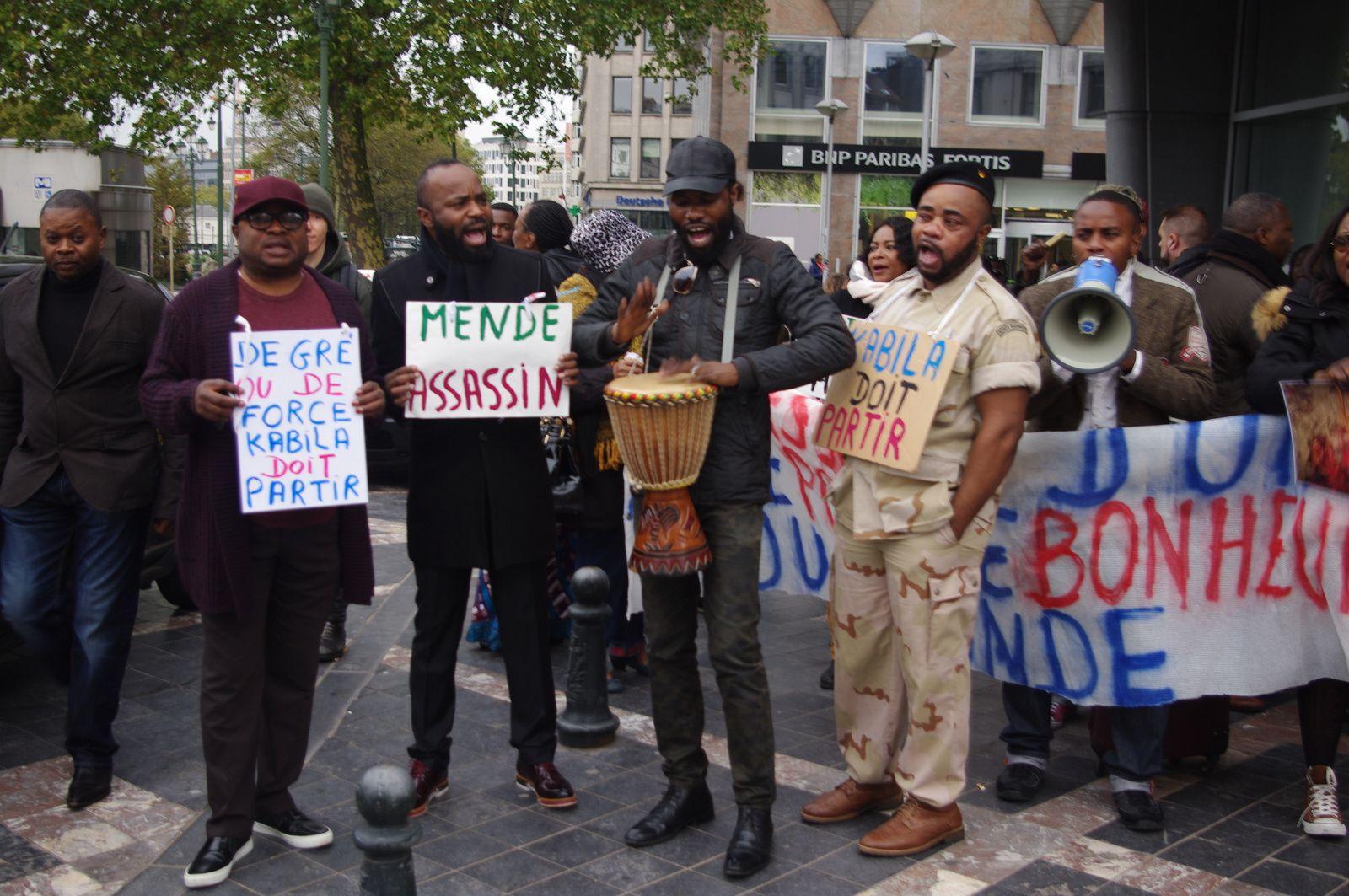 Bruxelles: Seulement 20 Congolais de Belgique pour le départ de Kabila le 31.12.2017