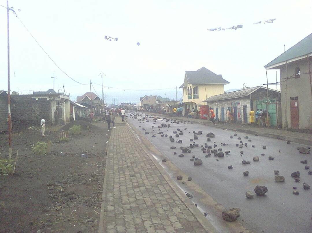 Remous à Goma