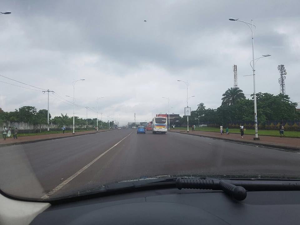 Flash. Kinshasa aux allures de ville morte