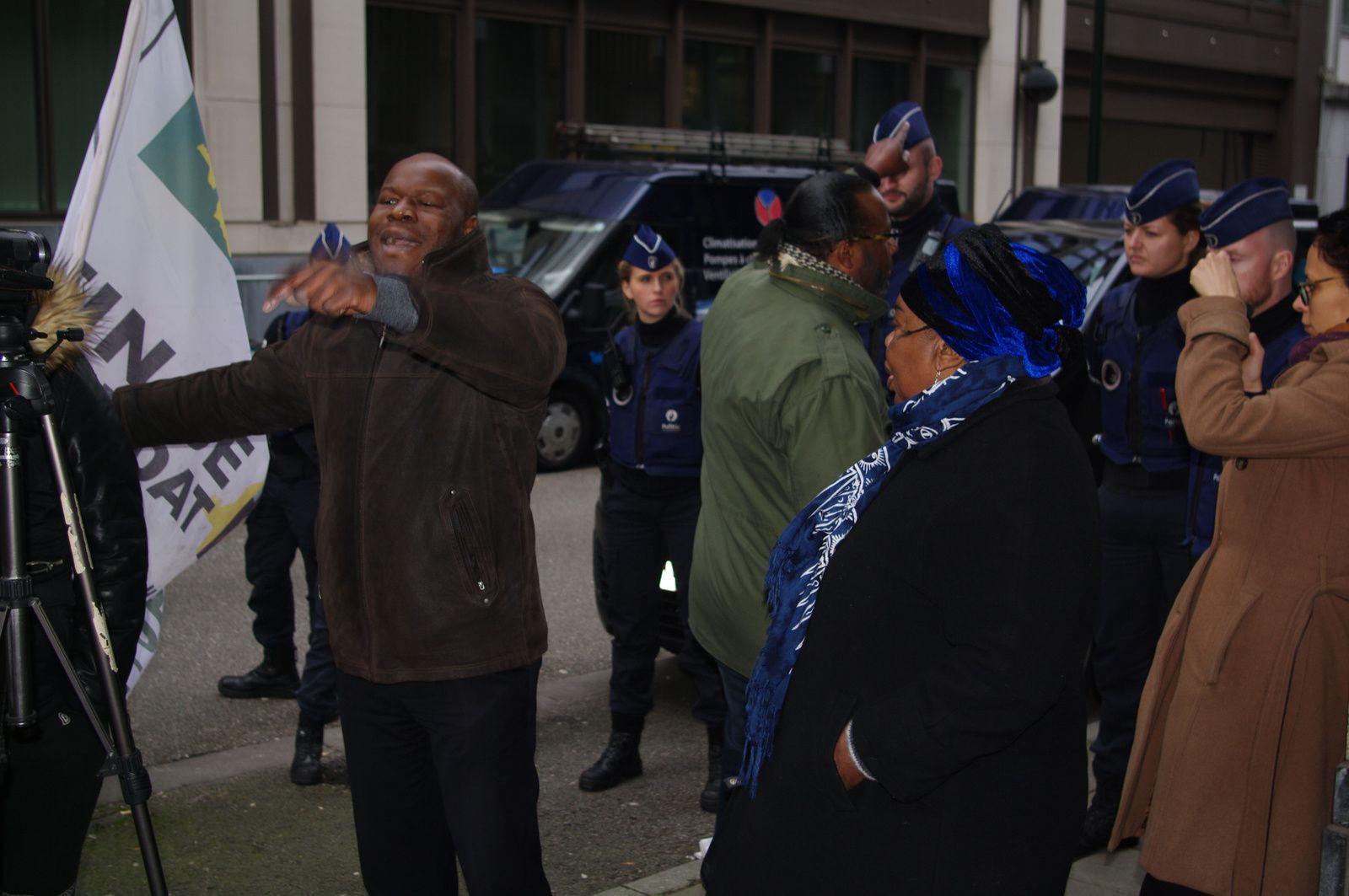 Bruxelles: des combattants à l'assaut de l'ambassade de la RD Congo