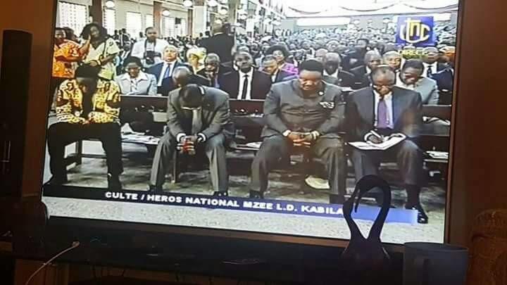 Culte en mémoire de LD Kabila: =Nous sommes en situation de non Etat=.
