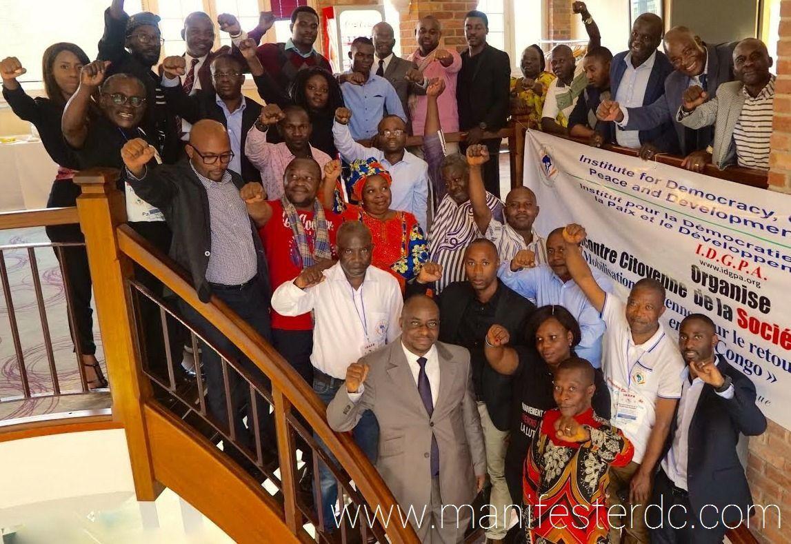 Signataires du Manifeste du Citoyen Congolais: une Transition citoyenne sans Kabila s'impose