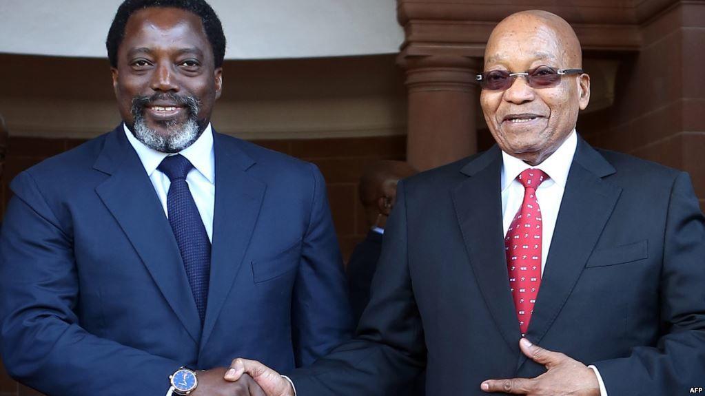 Jacob Zuma parti, un soutien en moins pour J. Kabila