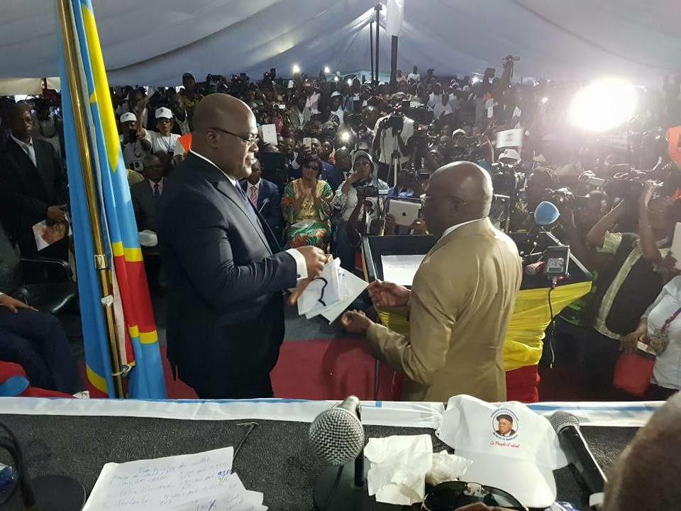 Félix Tshisekedi nouveau Pdt de l'UDPSambitionne une victoire à la Présidentielle, aux législatives...