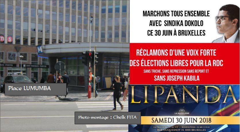 30 juin 2018: Rendez-vous des Congolais à Bruxelles