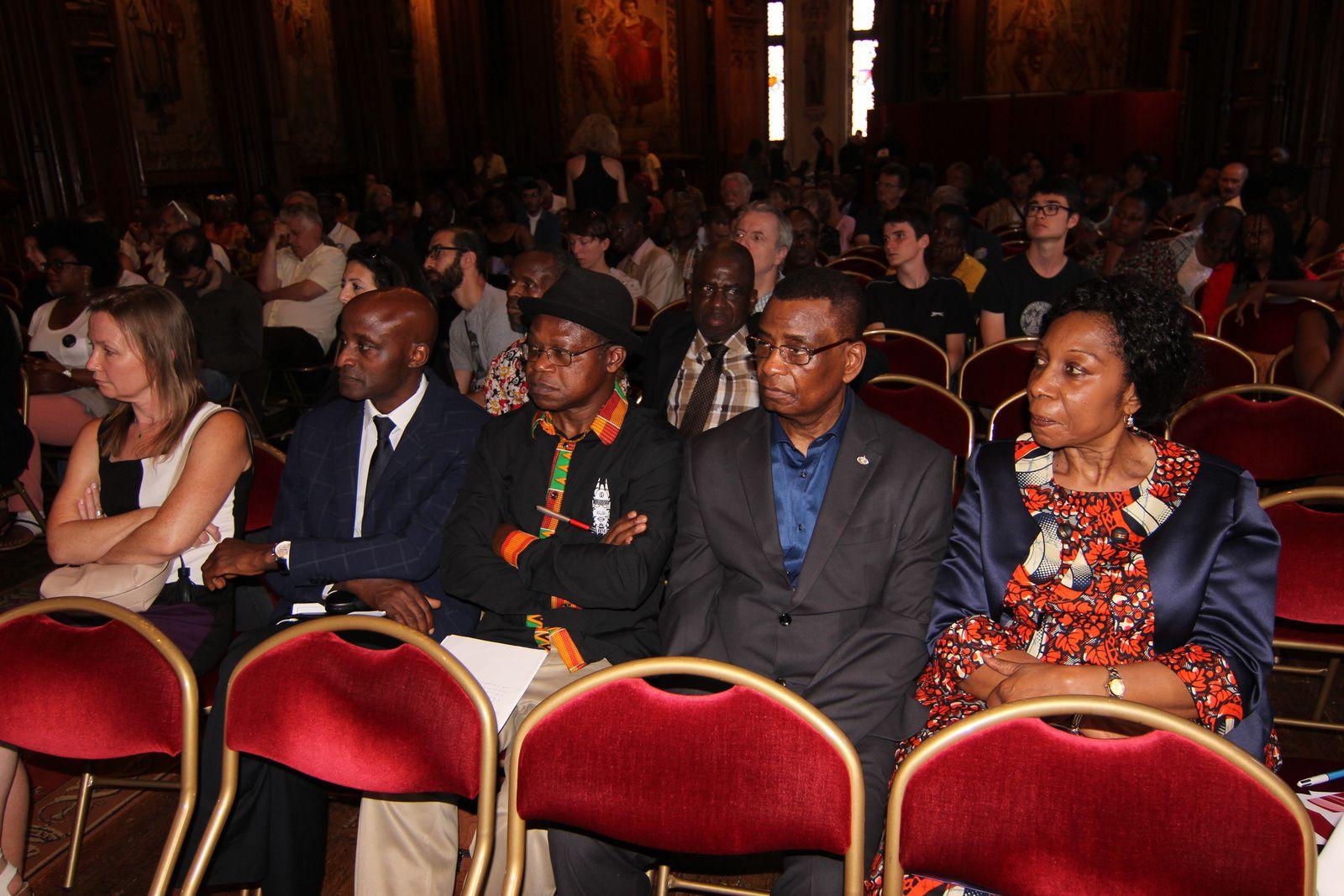 Inauguration de la place Lumumba au quartier Matonge de Bruxelles
