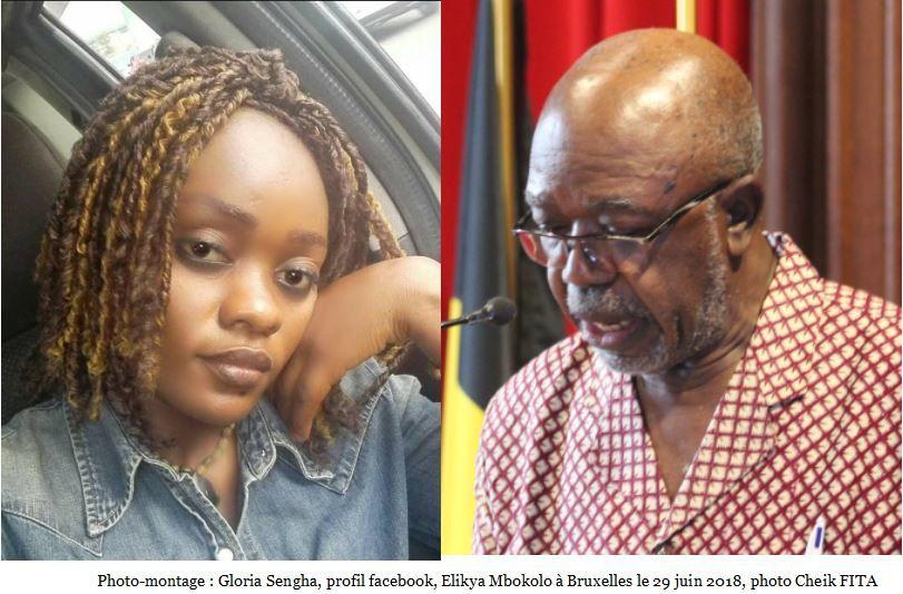Lu sur FB. Gloria Nsengha, activiste à Elikya Mbokolo Professeur!