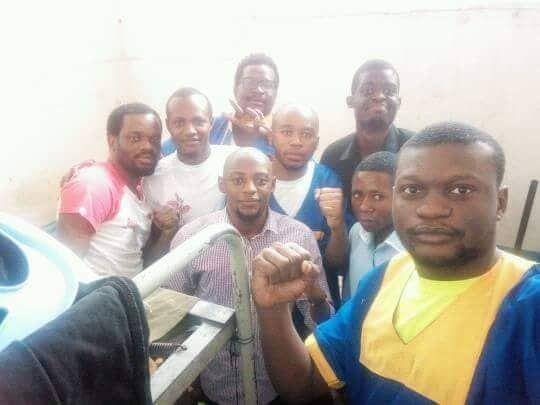 Signe du destin? 19.07.2018 J. Kabila au palais du peuple, les activistes de FILIMBI en audience foraine
