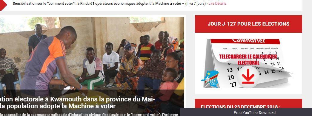 CENI. Compte à rebours et fixation sur la «machine à voter»