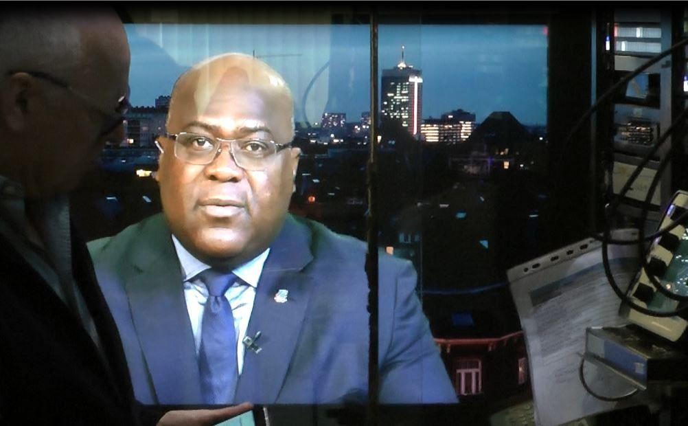 Flash. Félix Tshisekedi invité de TV5-Afrique la veille de son retour en RD Congo