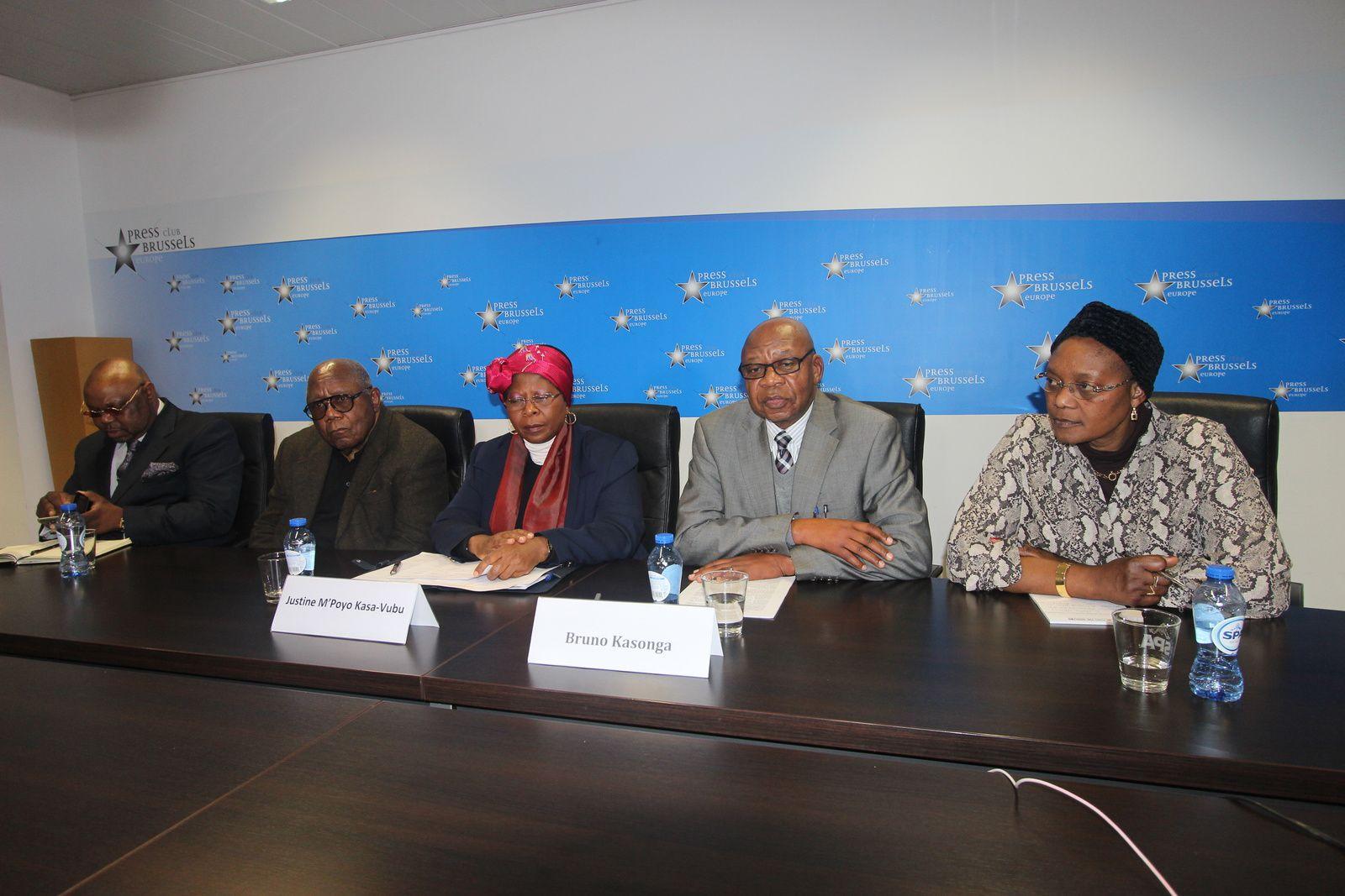 Sanctions de l'UE contre Shadari, sévère réquisitoire de Justine M'Poyo Kasa-Vubu contre Louis Michel