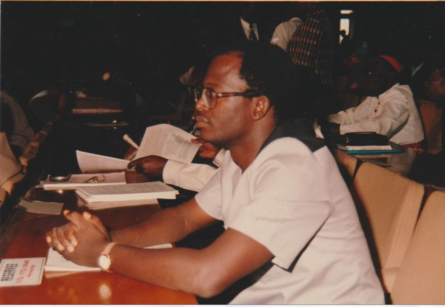 Cheik FITA, 1992, Conférence Nationale Souveraine