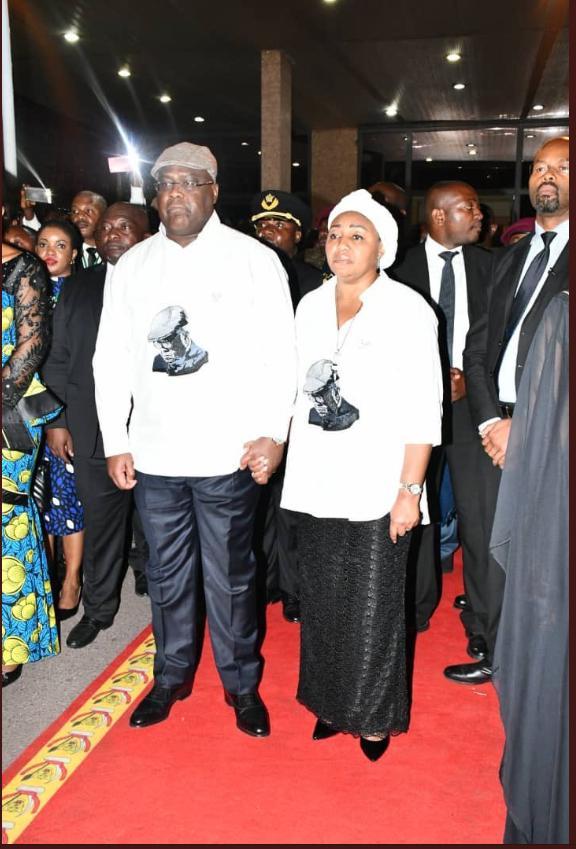 Le corps de Feu Etienne Tshisekedi est arrivé à Kinshasa