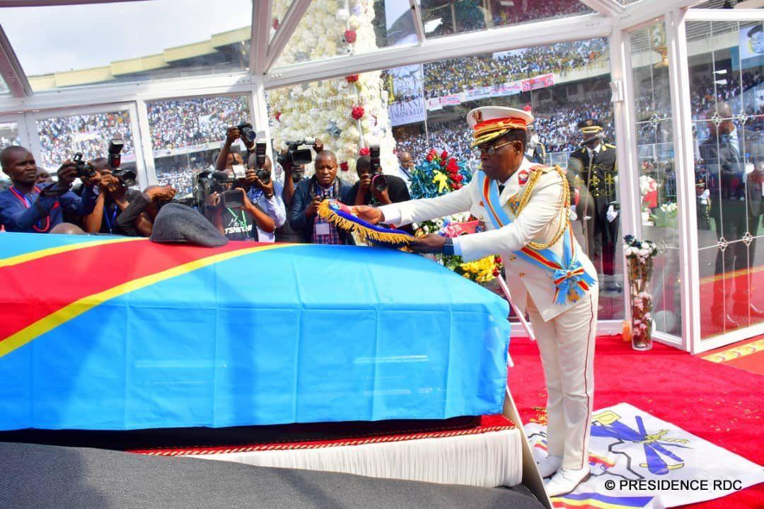 Dr Etienne Tshisekedi Wa Mulumba :«Grand Cordon ».dans l'ordre national
