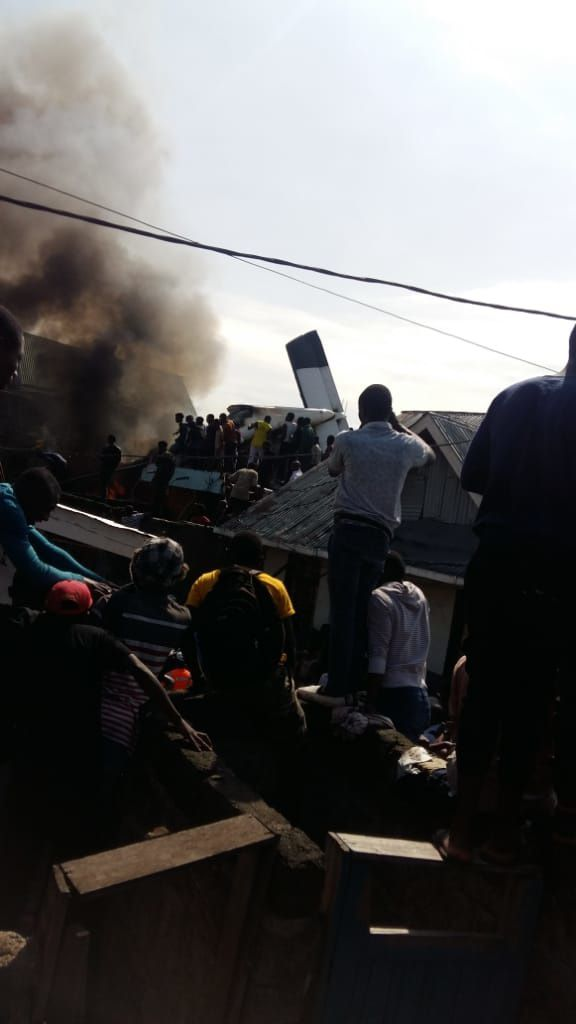 Flash. Crash d'un petit avion à Goma