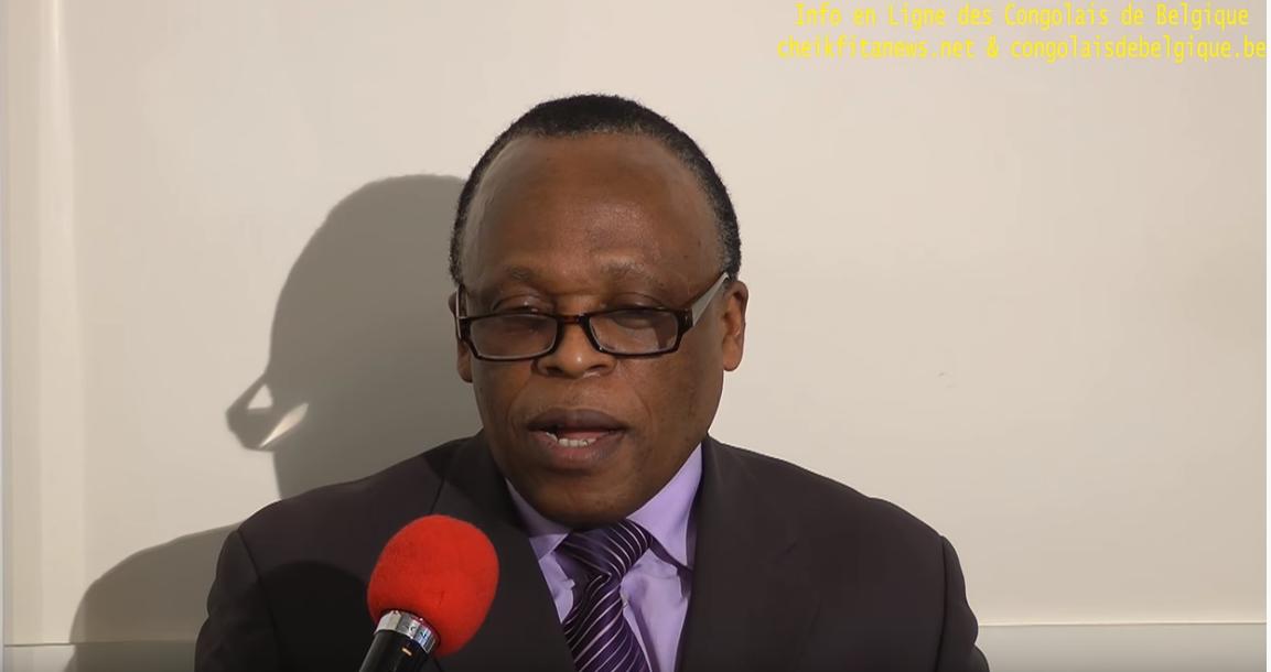 Mars 2018, André Kabanda , émission avec l'Info en Ligne des Congolais de Belgique